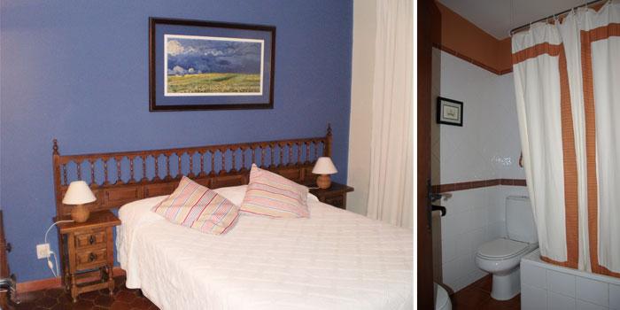 6 dormitorios (uno de ellos cuádruple), 3 baños y un aseo